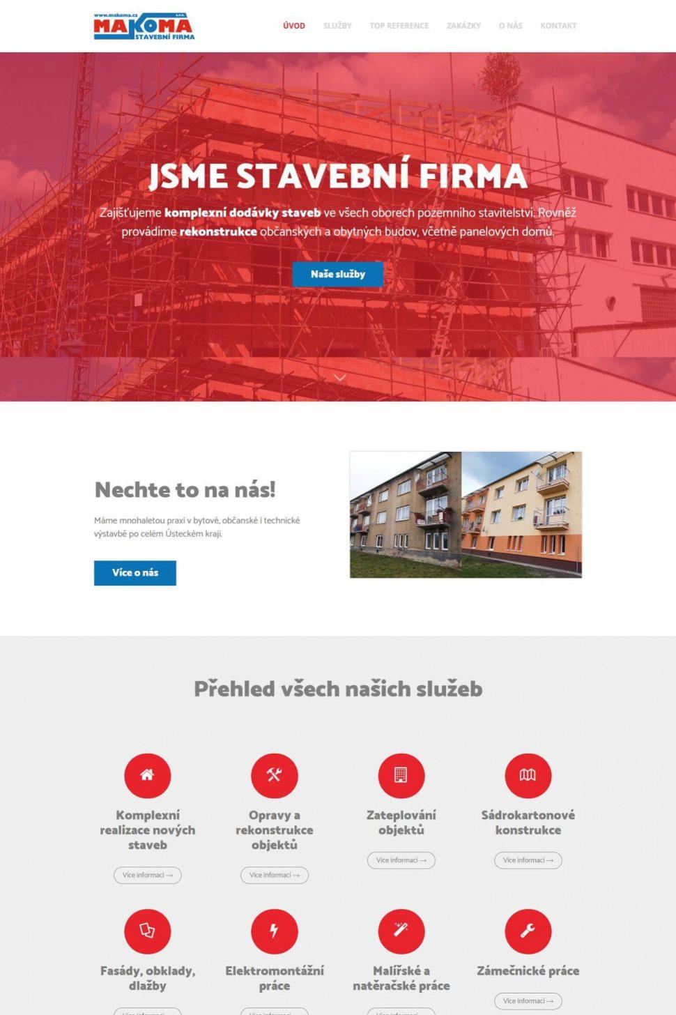 Stavební firma MAKOMA s.r.o. | Duchcov